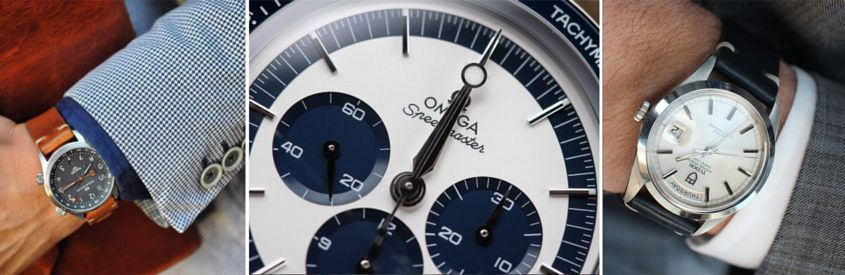 @bzabodyn214's Oak & Oscar, Omega Speedmaster and Tudor Day-Date