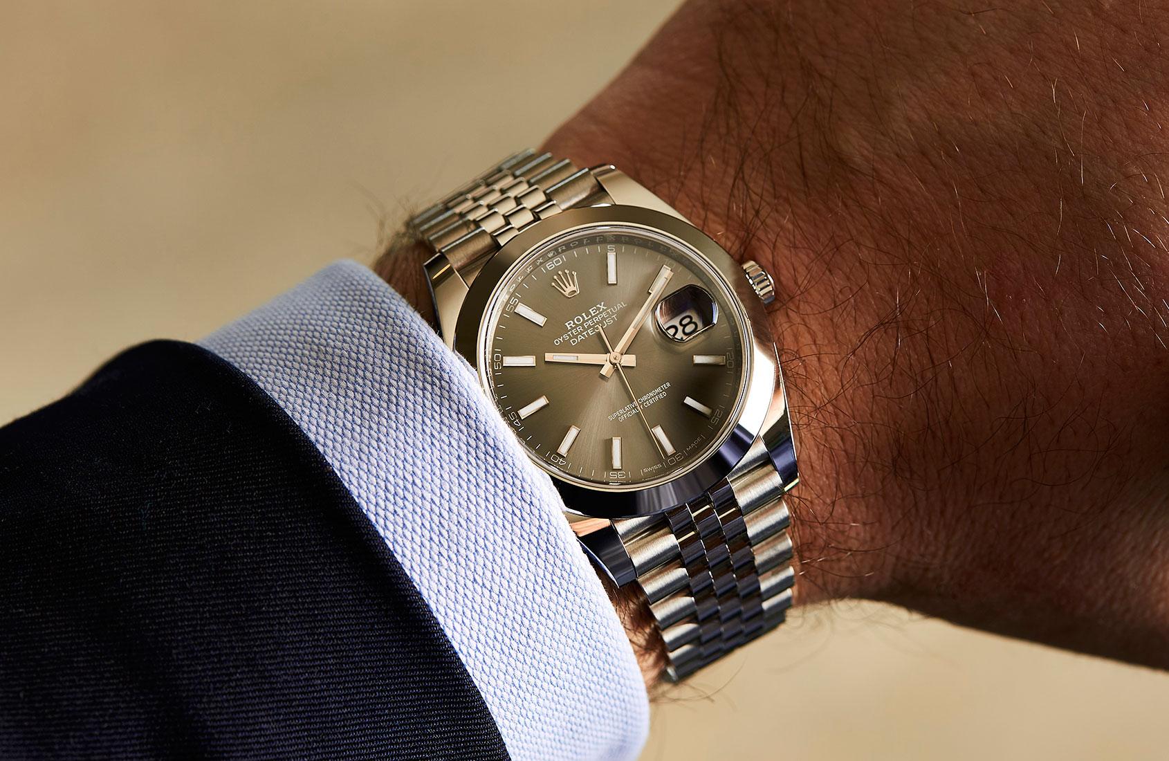 Rolex Datejust 41 Steel