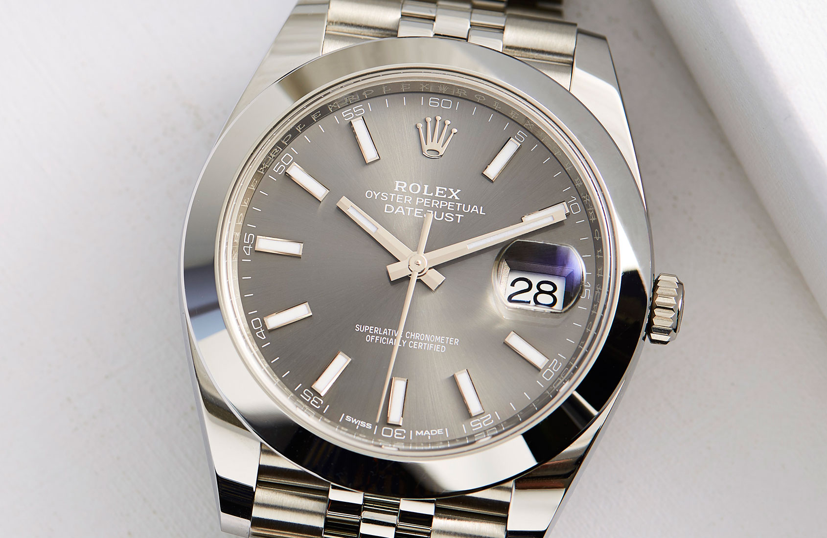 Rolex Oyster Perpetual Datejust 41 In Steel Hands On Review