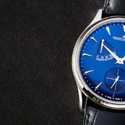 HANDS-ON: Beautiful blue – The Jaeger-LeCoultre Master Ultra Thin Réserve de Marche