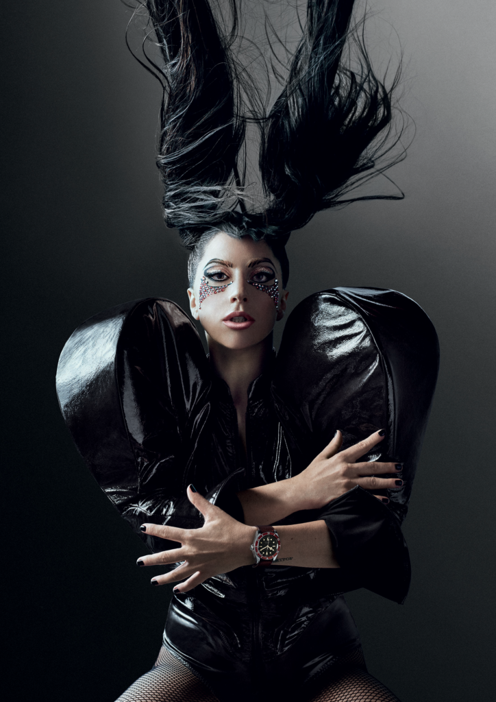 Lady Gaga is Tudor's latest brand ambassador.
