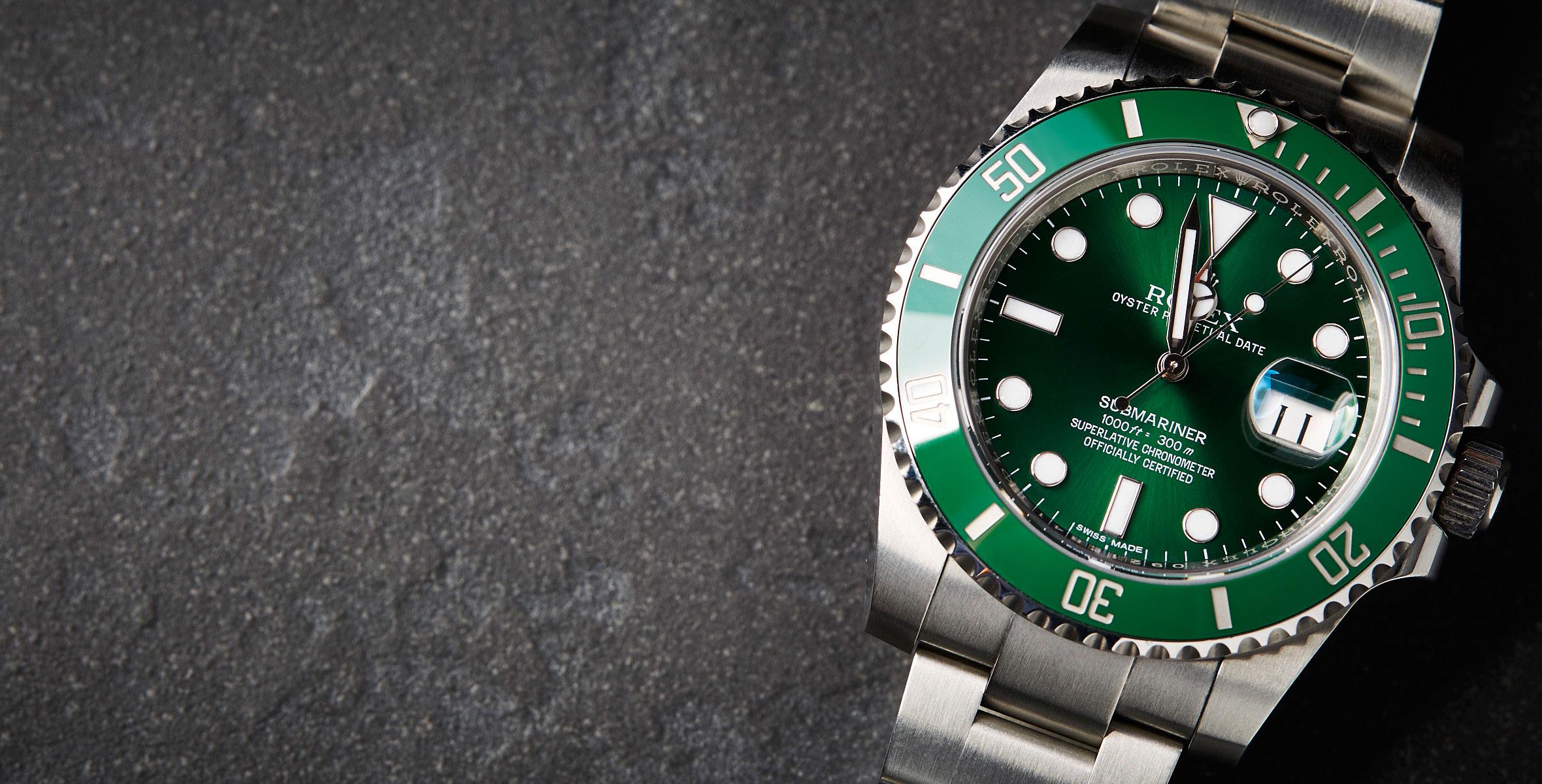 3952a195ea0 Rolex Submariner 116610LV – AKA  The Hulk  – Year-long Review