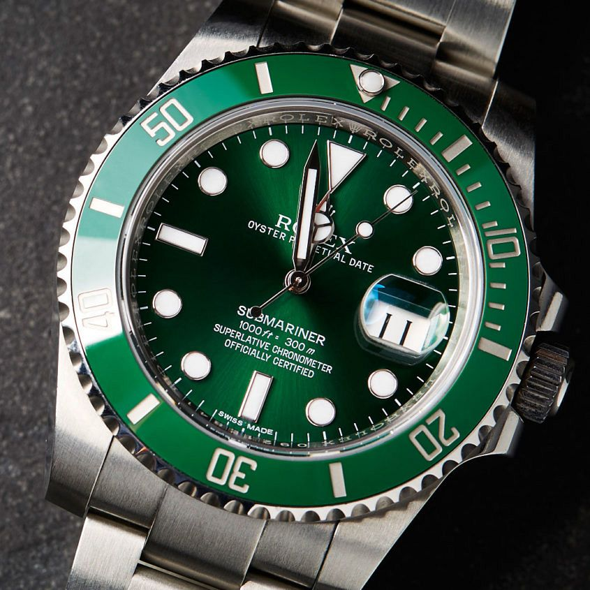 Rolex Submariner ref. 116610LV – better known as 'The Hulk'