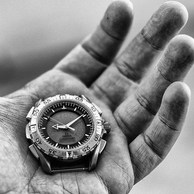 Tool watch. Defined. The @omega X33 - awesome pic by @elio5 ️