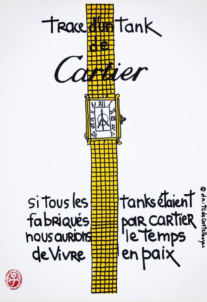 Cartier by Jean-Charles de Castelbajac.
