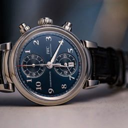 """HANDS-ON: Not your typical sports chrono – the IWC Da Vinci Chronograph Edition """"Laureus Sport for Good Foundation"""""""