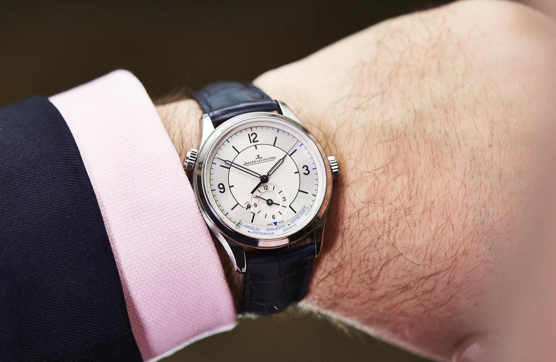 Jaeger Lecoultre Master Geographic Hands On Review