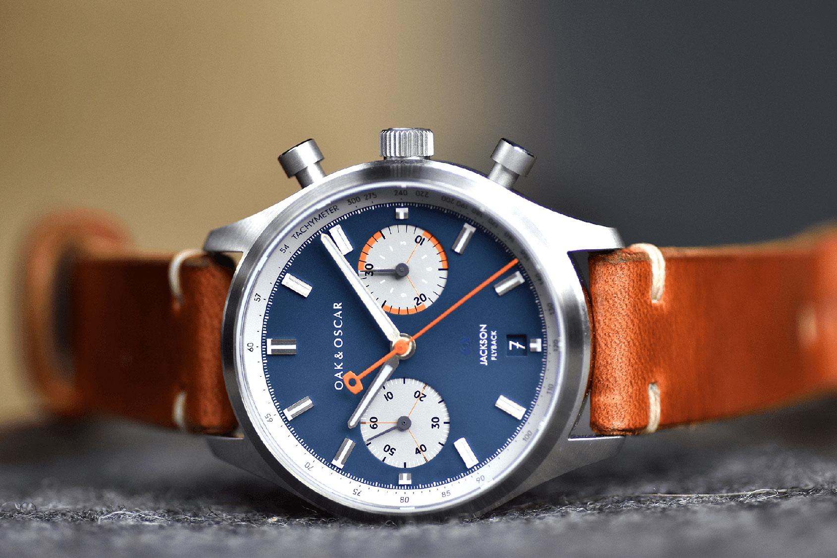 oak oscar jackson flyback chronograph