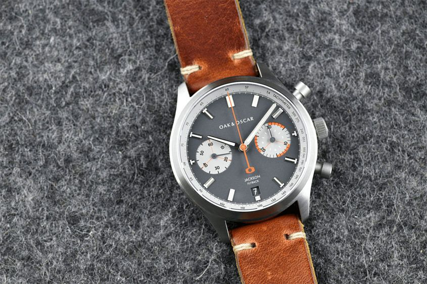 Introducing the oak oscar jackson flyback chronograph time and tide watches for Oak oscar watches