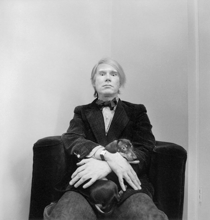 Andy Warhol in 1973