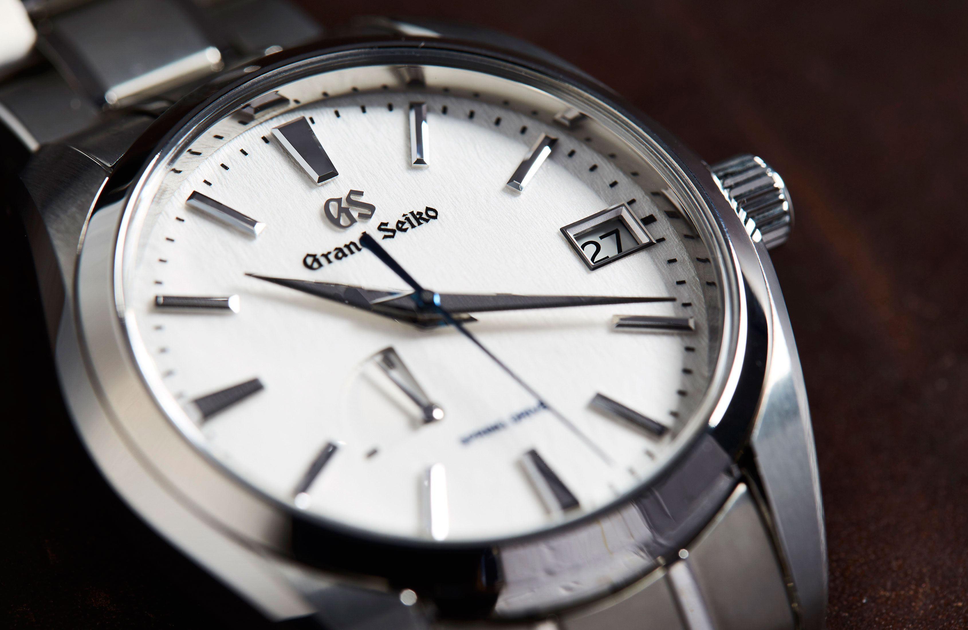 articles detail watches surface up grand seiko dial snowflake close the on