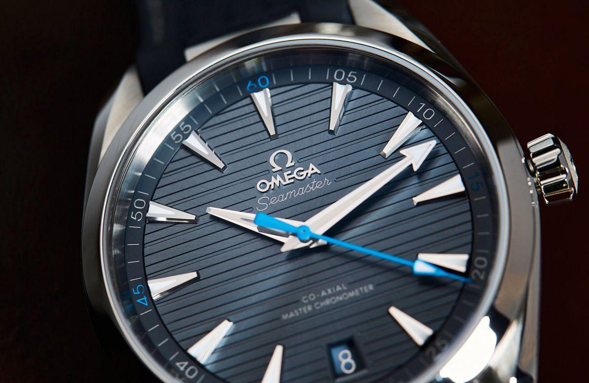 Les plus belles alternances poli/brossé Omega-Seamaster-Aqua-Terra-blue-10-1-600x391@2x