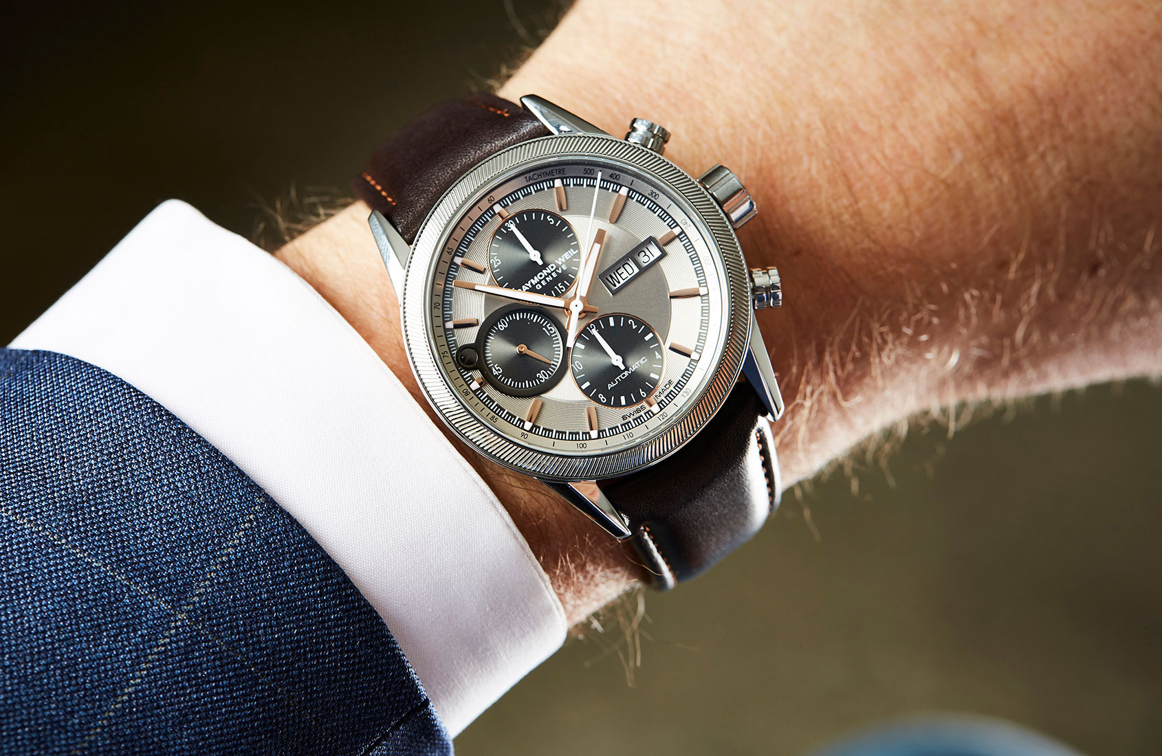 Raymond Weil Freelancer Chronograph – Video Review
