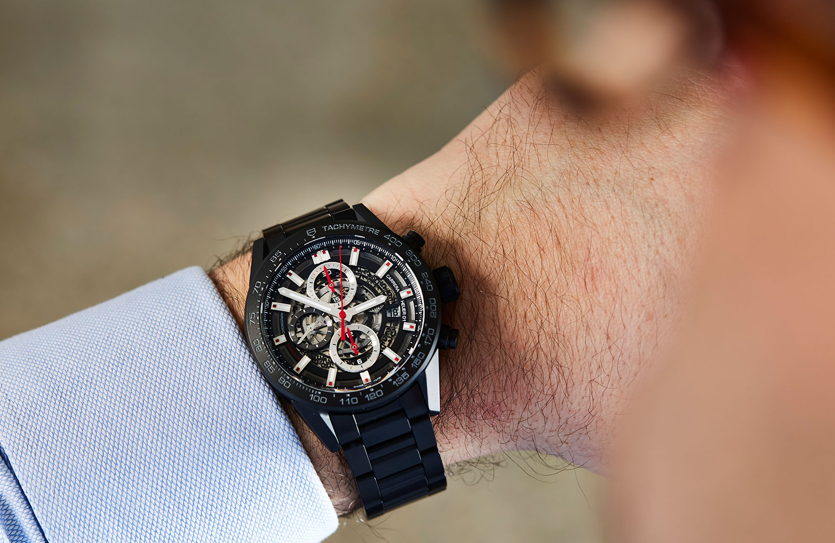 ebe600975f5f TAF Heuer Carrera Heuer 01 43mm in Black Ceramic In-depth Review ...