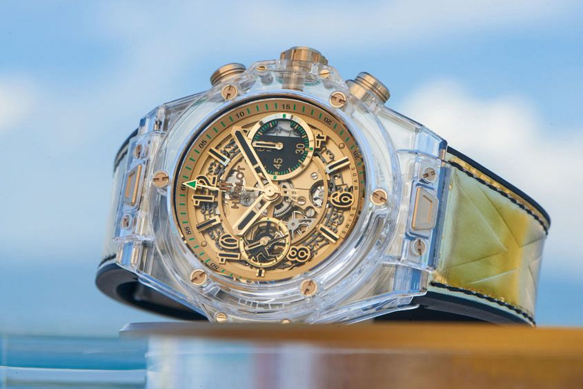 Big Bang Unico Sapphire Usain Bolt for Only Watch 2017