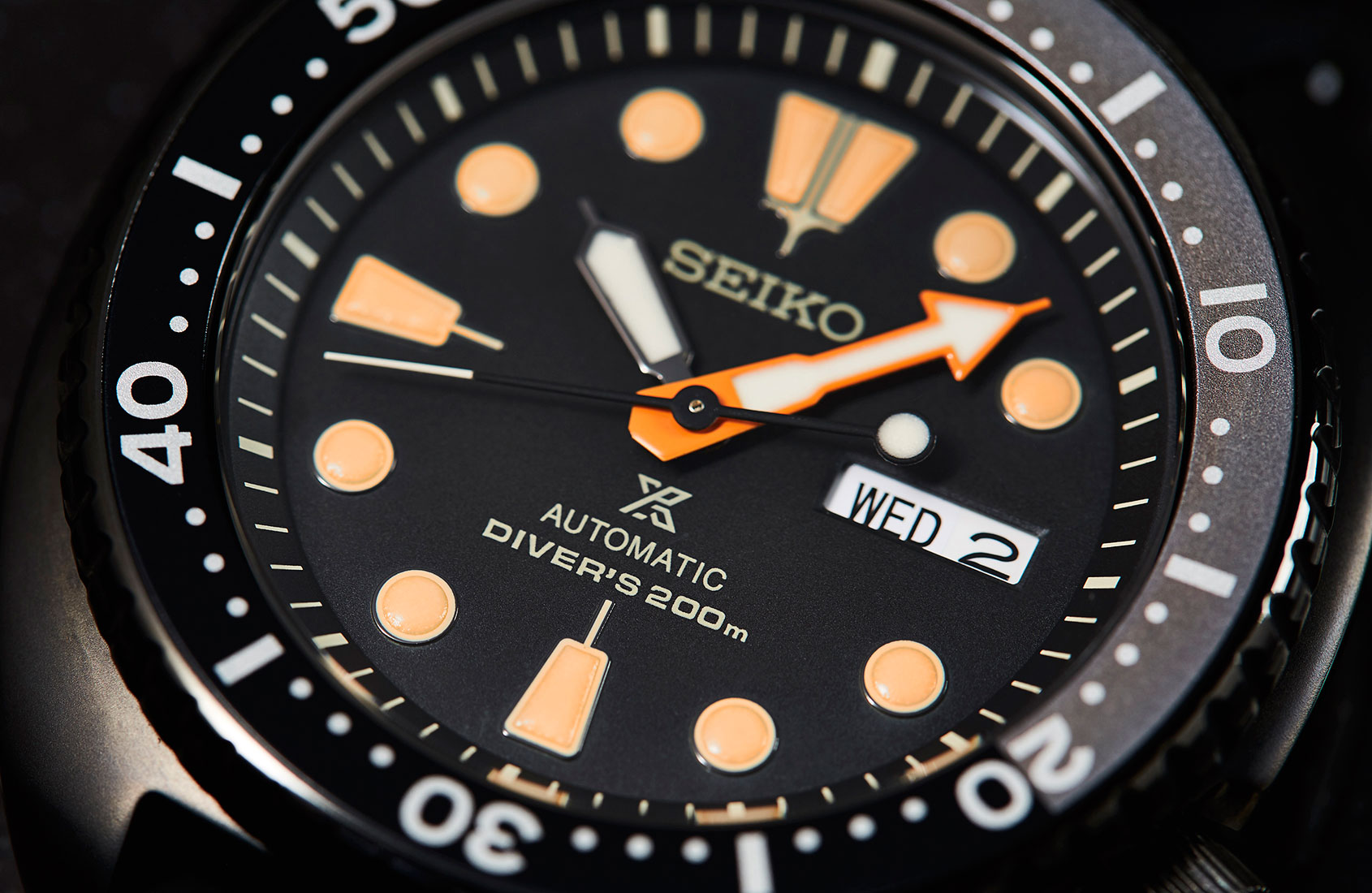 EDITOR'S PICK: Seiko's all-black Prospex diver – the 'Darth