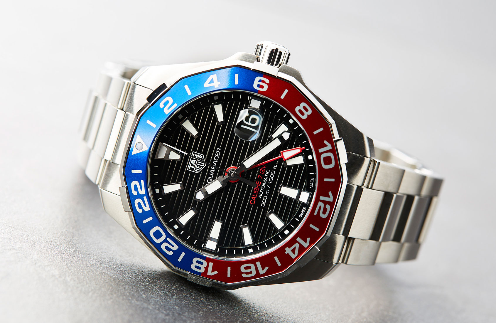 HANDS-ON: The TAG Heuer Aquaracer Calibre 7 GMT