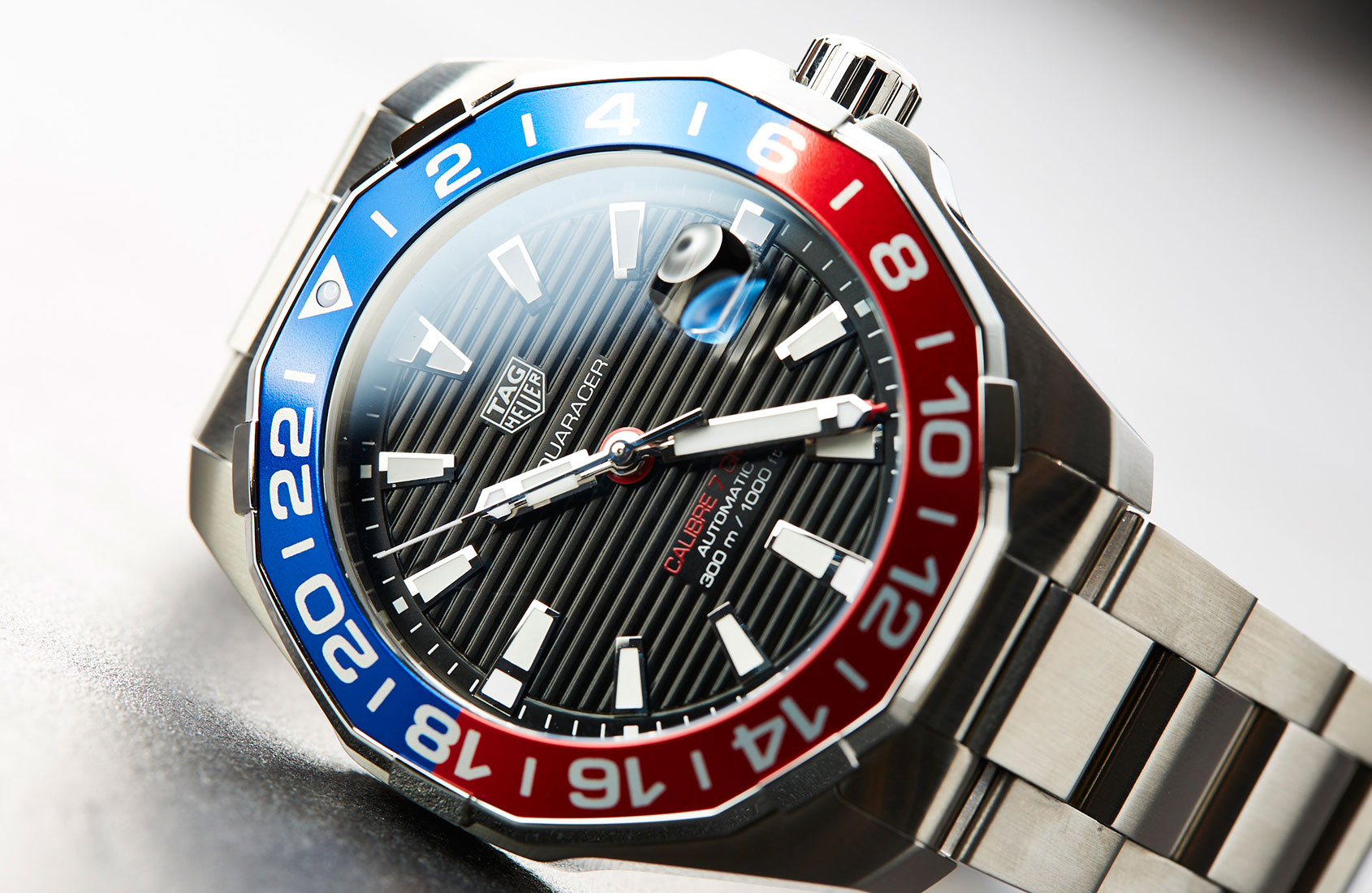 Tag: TAG Heuer Aquaracer Calibre 7 GMT