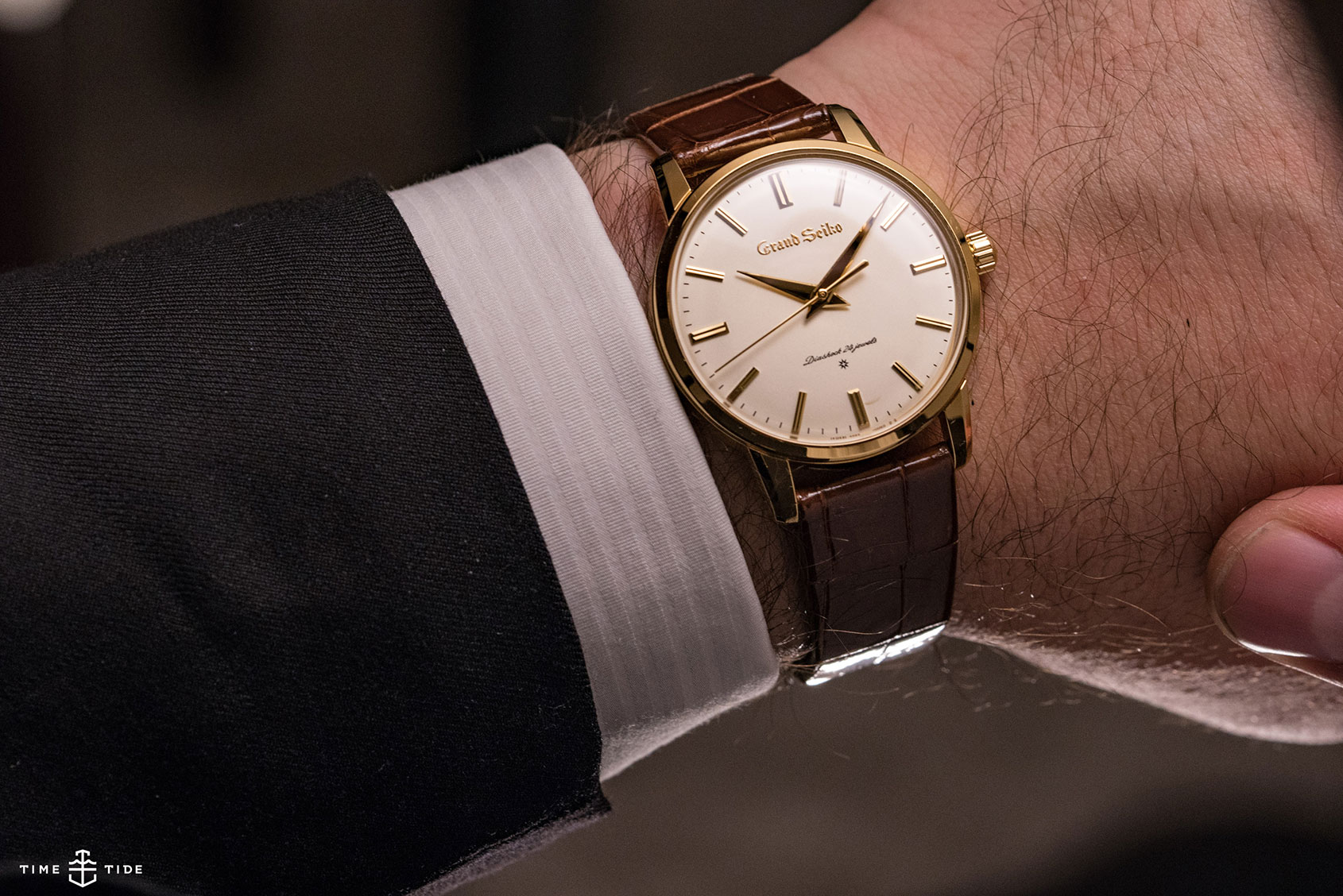 Grand Seiko re-creation in yellow gold (ref  SBGW252) review