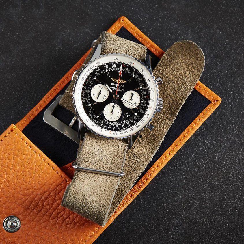 NATO watch strap, Breitling Navitimer Chronograph