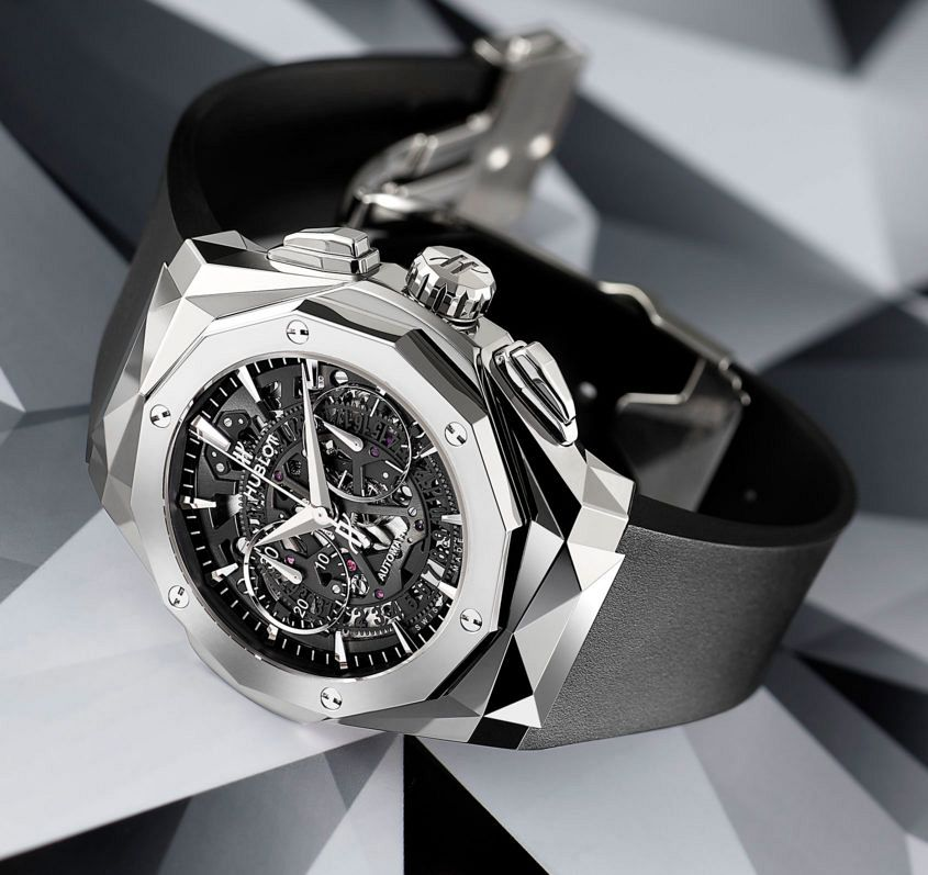 the hublot classic fusion aerofusion chronograph orlinski. Black Bedroom Furniture Sets. Home Design Ideas