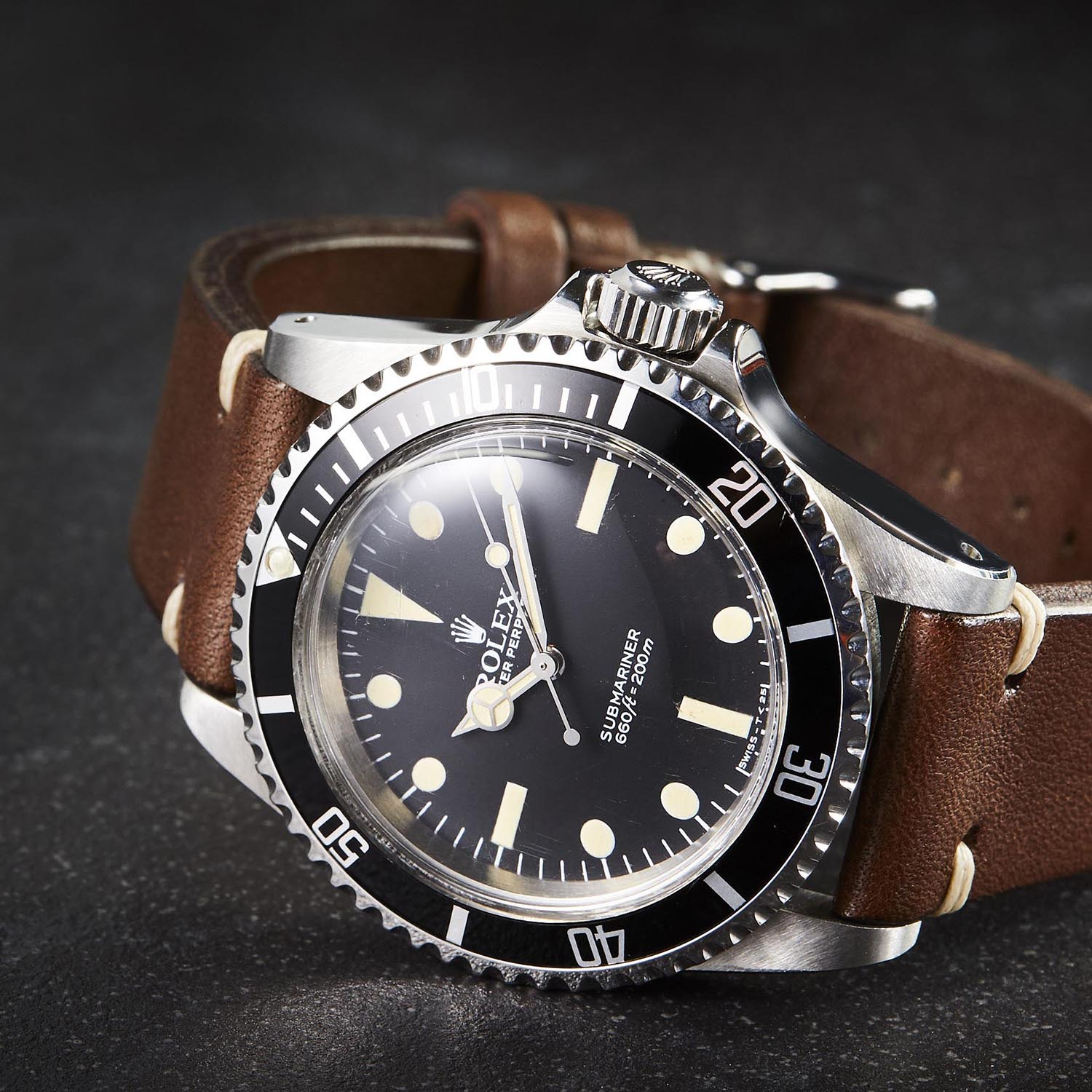 Dive Watches on Leather Straps