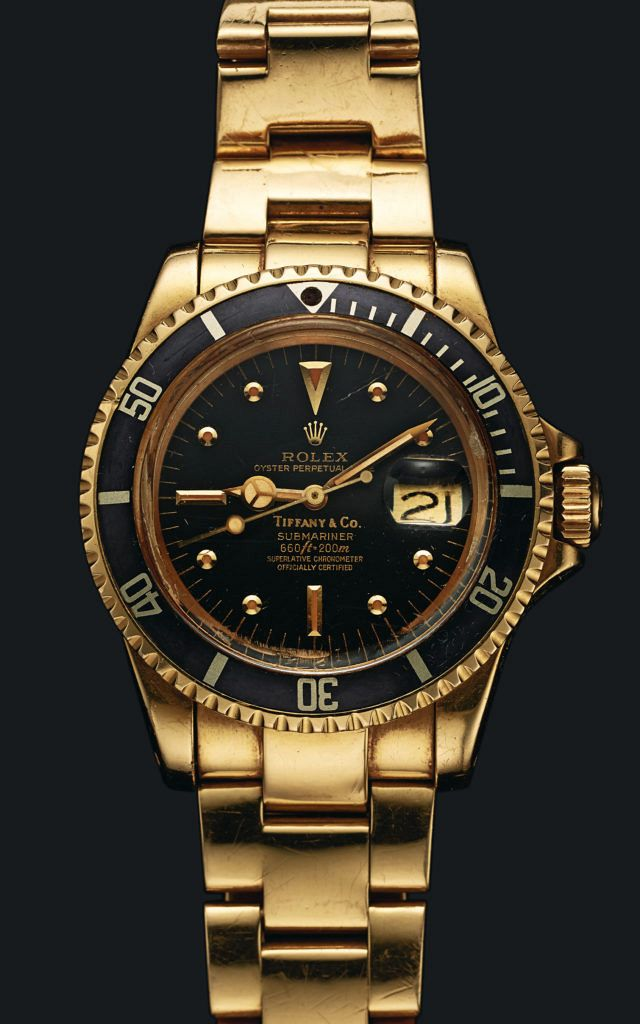 Sylvester Stallone's Tiffany & Co Rolex Submariner