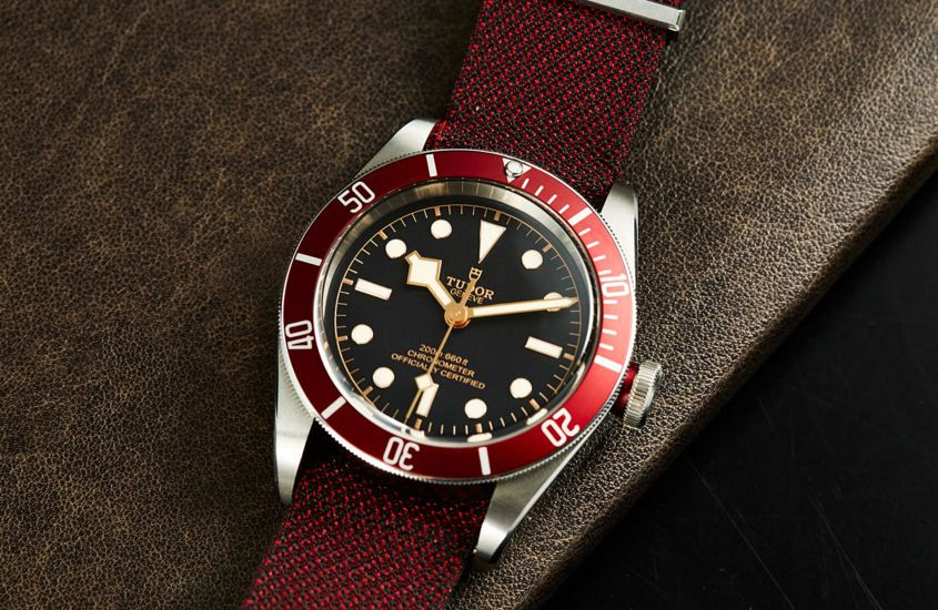 Tudor Heritage Black Bay in red