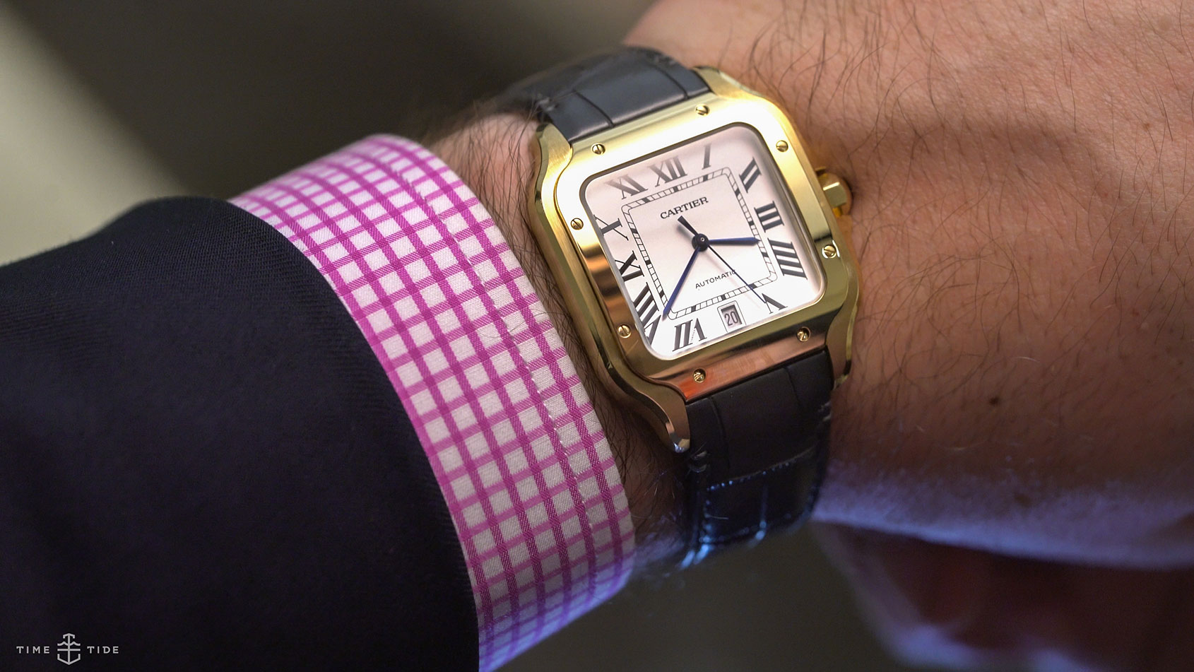 6c0d79a756ba0 Cartier Santos – our hands on review of the latest 2018 model