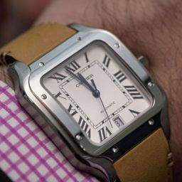 HANDS ON: How to update an icon – Cartier's Santos de Cartier