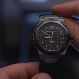 Girard-Perregaux Laureato in black ceramic