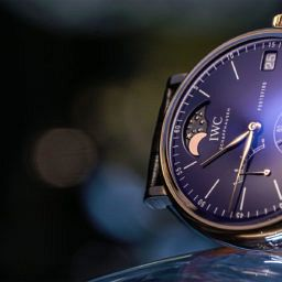 "VIDEO: IWC's Portofino Hand-Wound Moon Phase Edition ""150 Years"""