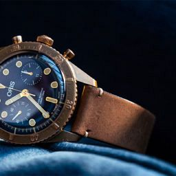 INTRODUCING: The Oris Carl Brashear Chronograph Limited Edition
