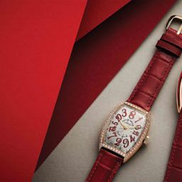 Franck Muller Crazy Hours Rose Gold Swiss Watch Luxury