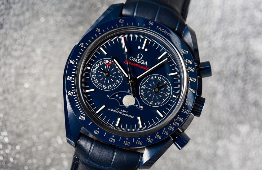 Omega Co‑Axial Master Chronometer Moonphase Chronograph