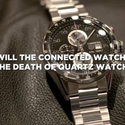 "VIDEO: ""Quartz watches will be destroyed by the tsunami of the connected watch,"" says TAG Heuer CEO"