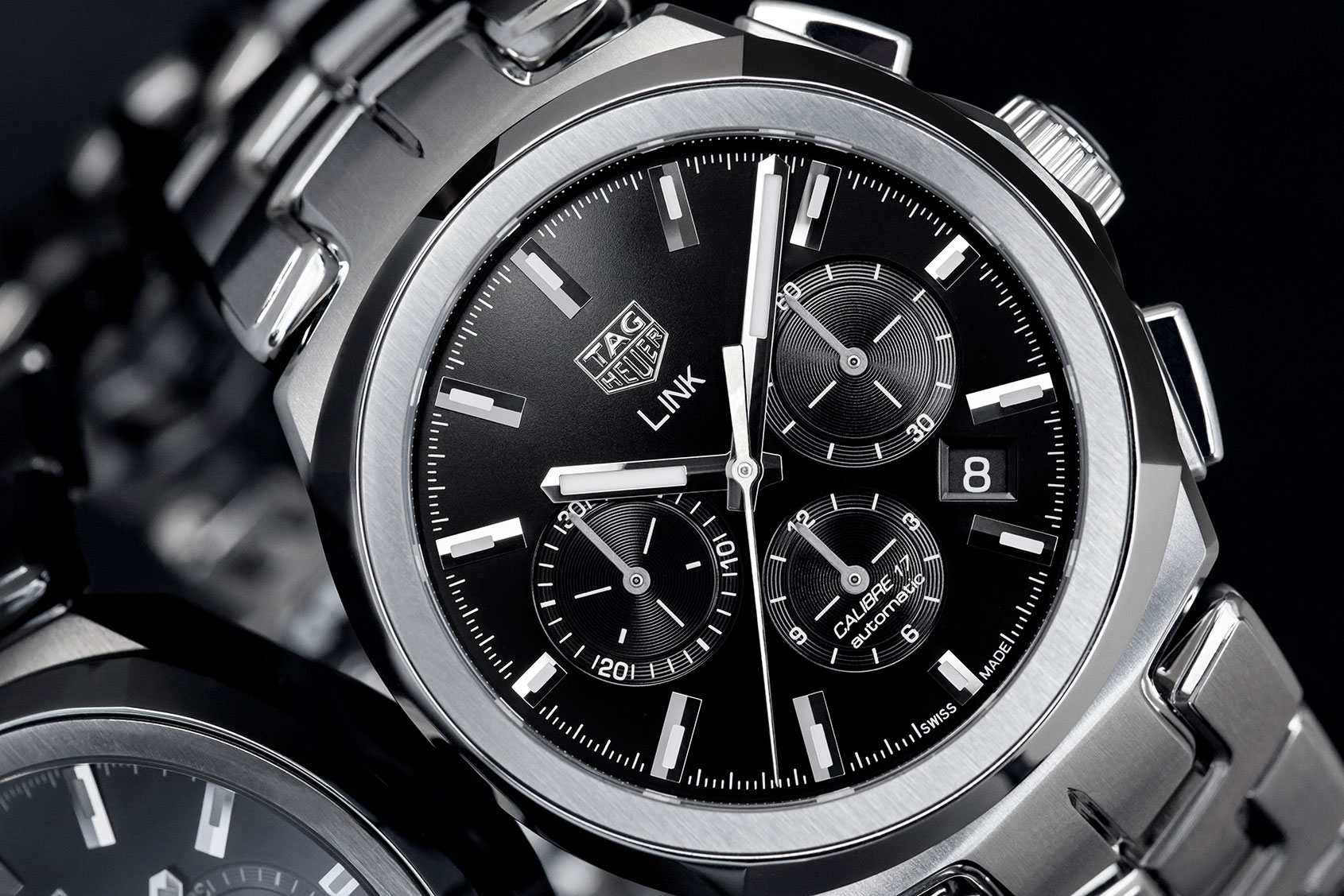 This Tag: TAG Heuer Link Calibre 17 Chronograph