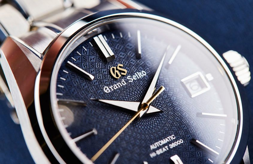 The dial of the Grand Seiko SBGH267.