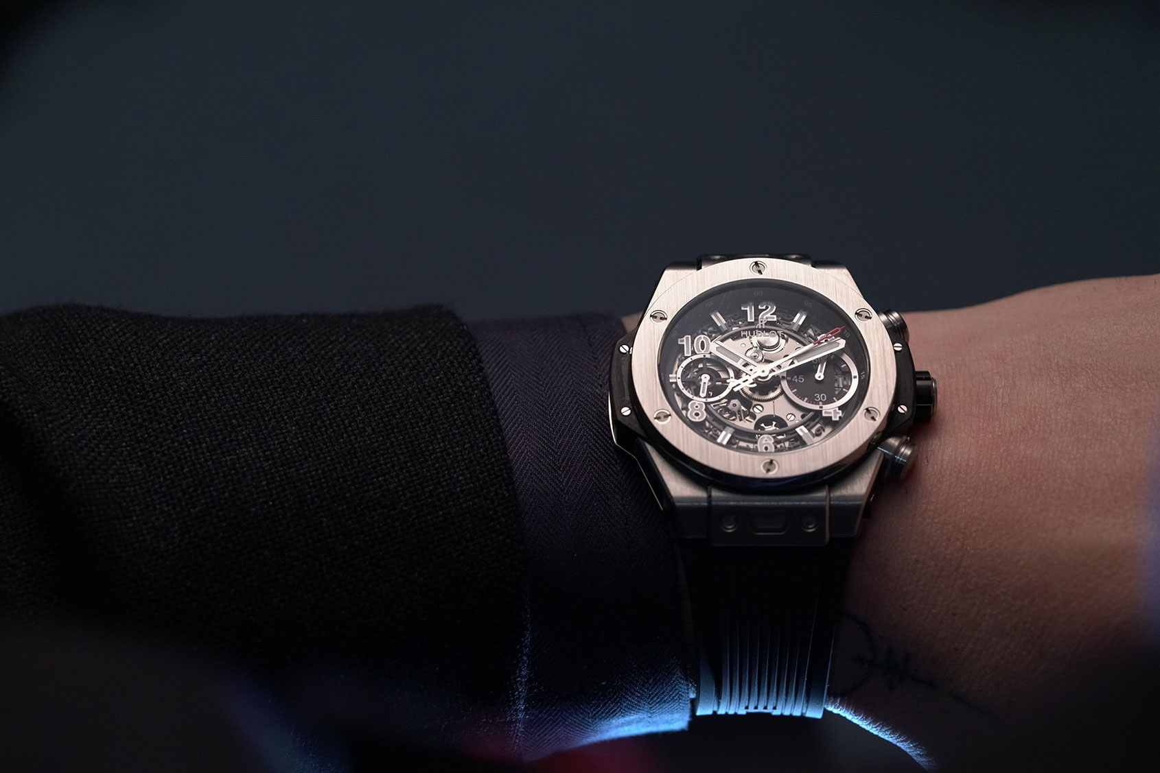 Hands On The Hublot Big Bang Unico Titanium Chronograph