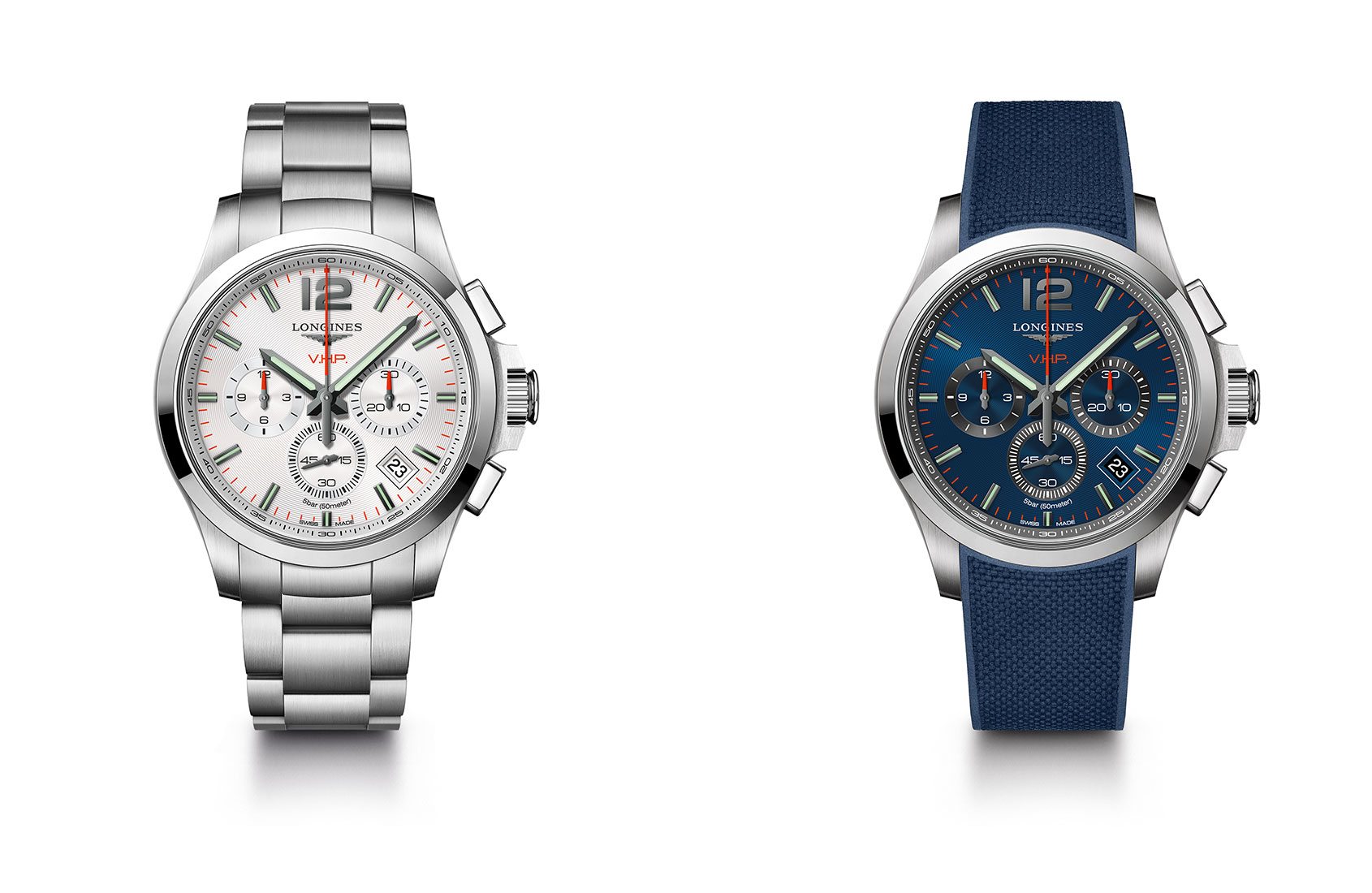 INTRODUCING  The Longines Conquest V.H.P. Chronograph  b20e4493392