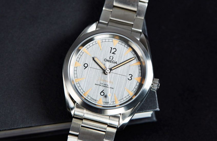 Omega Seamaster Railmaster on bracelet