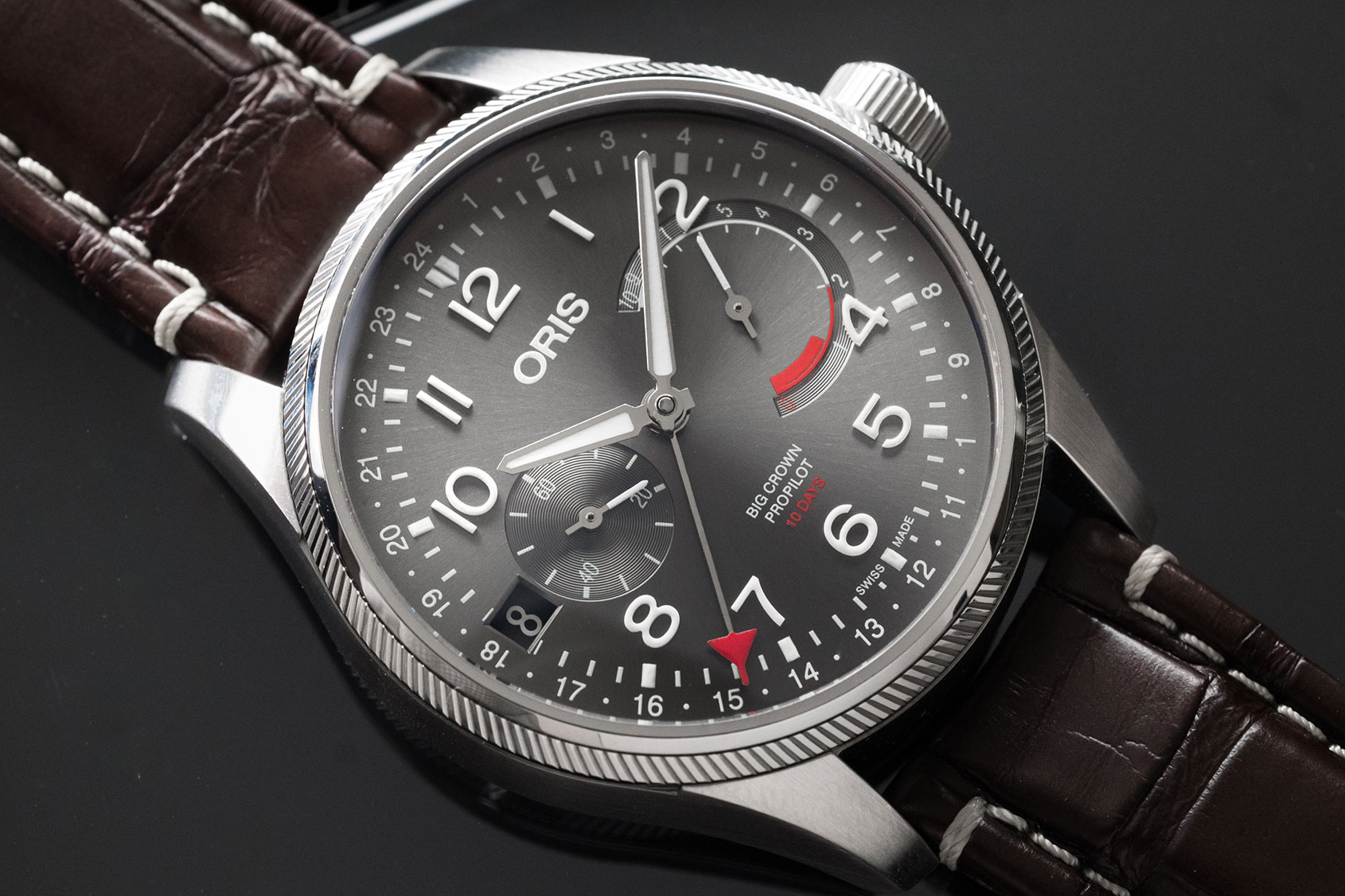 INTRODUCING: The Oris Big Crown ProPilot Calibre 114 ...