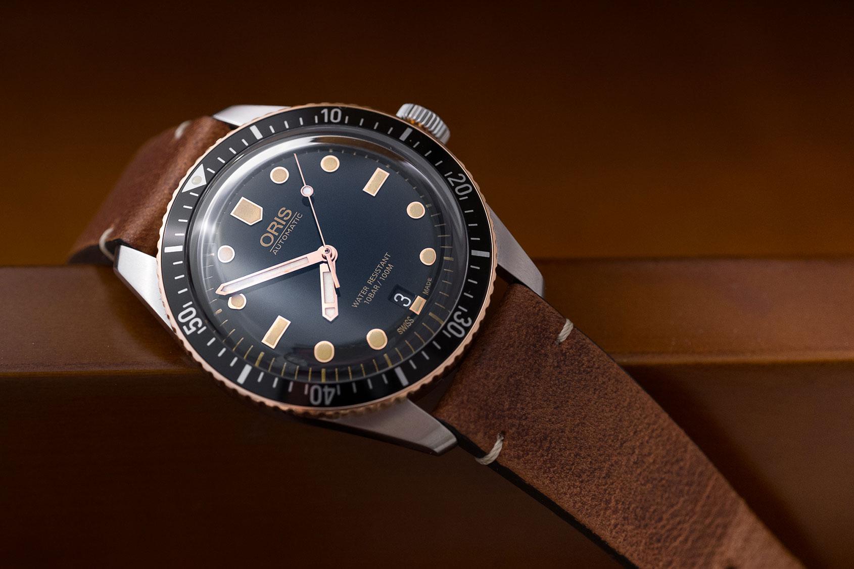 Kết quả hình ảnh cho Oris Divers Sixty Five Steel And Bronze