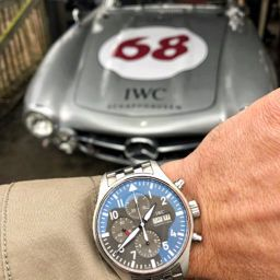 MY DAY WITH: The IWC Chronograph Spitfire at the Goodwood 76th Members' Meeting
