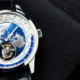 HANDS-ON: Top of the world – the epic, awesome Jaeger-LeCoultre Tourbillon Geophysic Universal Time