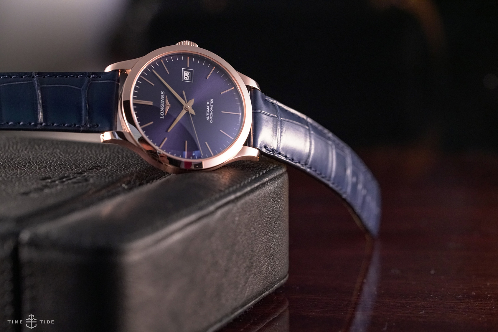 cba37b08aa2 HANDS-ON  The Longines Record - going for gold