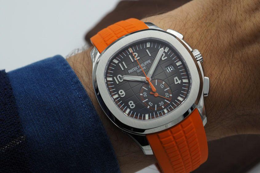 Patek Philippe Aquanaut Chronograph Ref. 5968A wrist