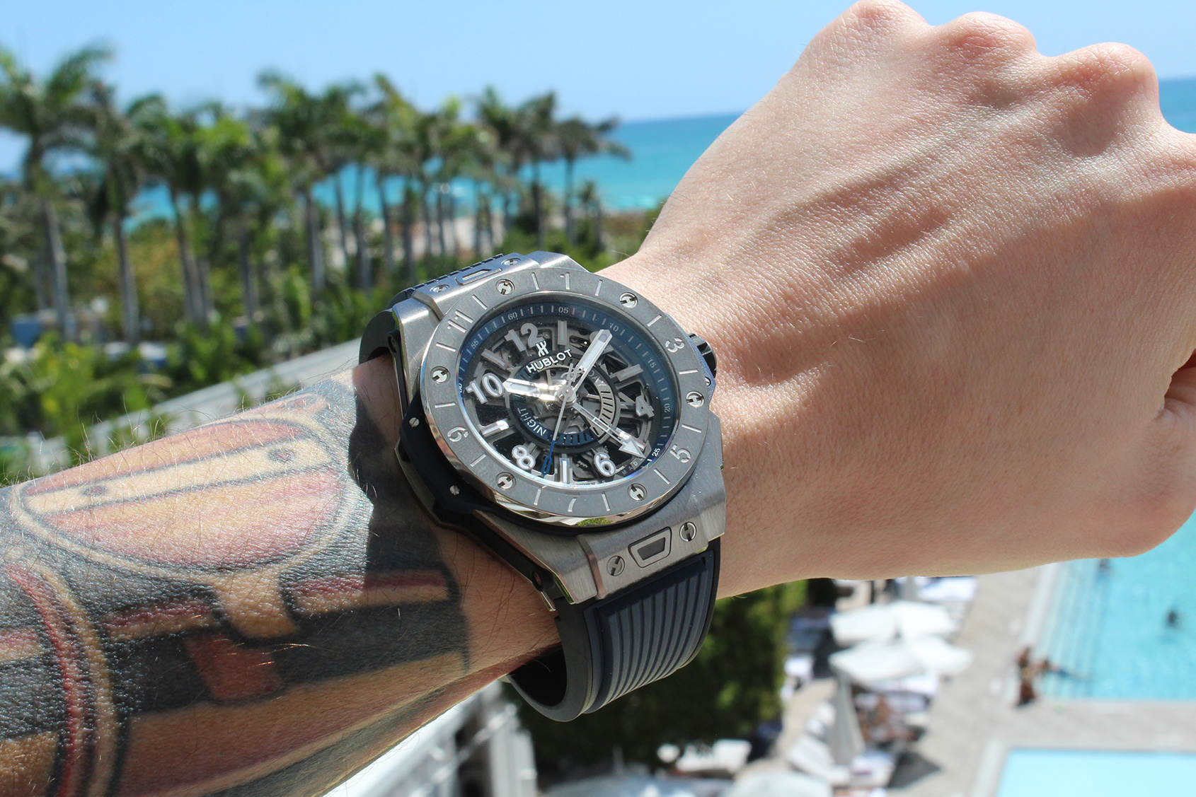 In Depth The Hublot Big Bang Unico Gmt Titanium Time And Tide Watches