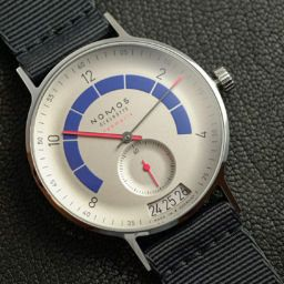 HANDS-ON: The Nomos Autobahn – a surprising tribute to the famously fast highway