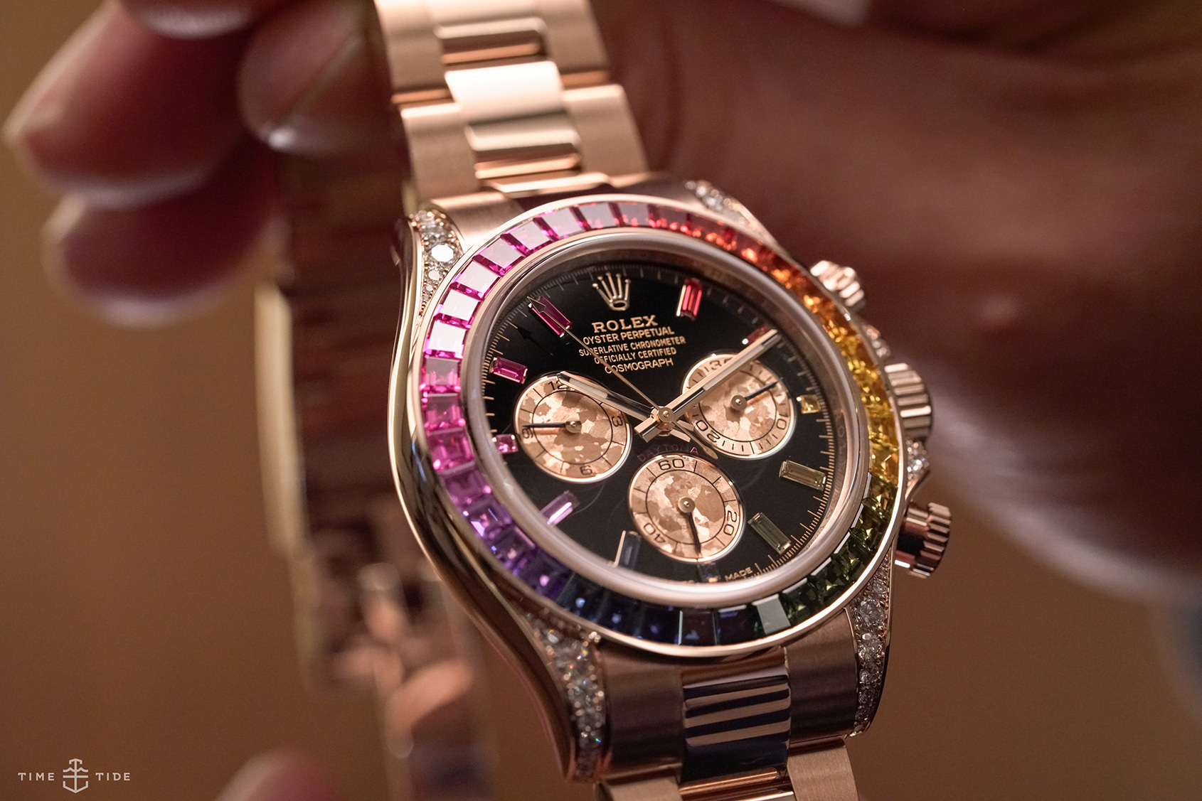 Rolex Daytona Rainbow most exciting chronographs of 2018